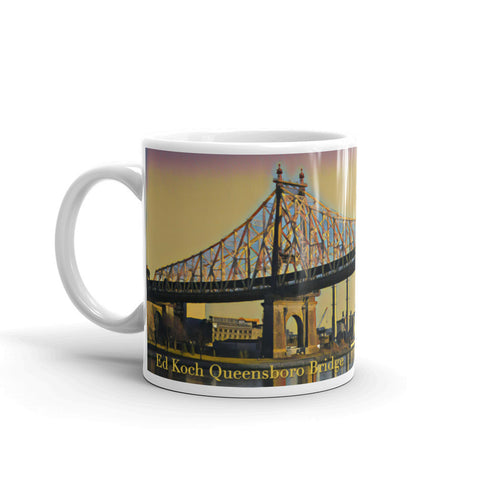 ED KOCH QUEENSBORO BRIDGE, NEW YORK CITY (YellowSky) - Mug
