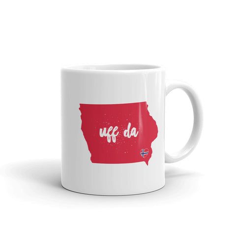UFF DA IOWA (NORWAY) Coffee & Tea Mug