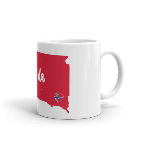 UFF DA SOUTH DAKOTA (NORWAY) Coffee/Tea Mug