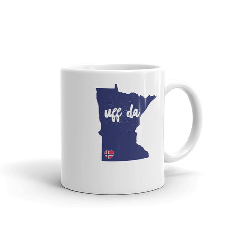 UFF DA MINNESOTA (NORWAY) Coffee/Tea Mug