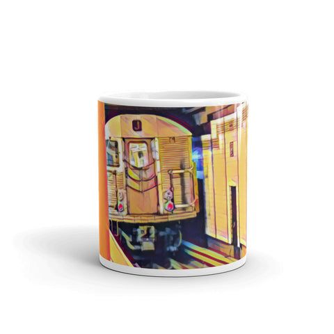 "NEW YORK CITY SUBWAY ""J"" TRAIN (Yellow) - Mug"