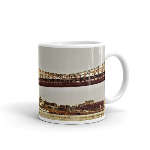 ED KOCH QUEENSBORO BRIDGE, NEW YORK CITY (Vintage) - Mug