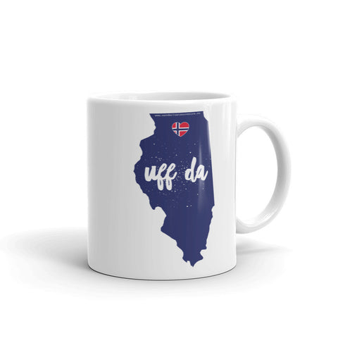 UFF DA ILLINOIS (NORWAY) Coffee/Tea Mug