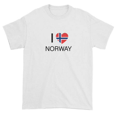 I HEART NORWAY - Short sleeve t-shirt