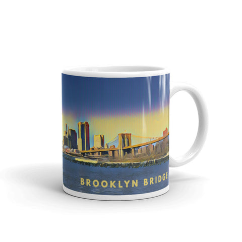 BROOKLYN BRIDGE NEW YORK (Vibrant) - Mug