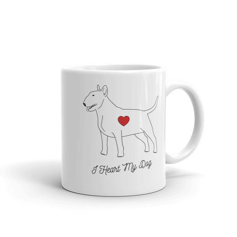 I HEART MY DOG - BULL TERRIER - Mug