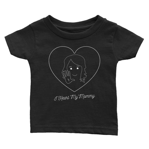 I HEART MY MOMMY, SIGN LANGUAGE - Infant Tee