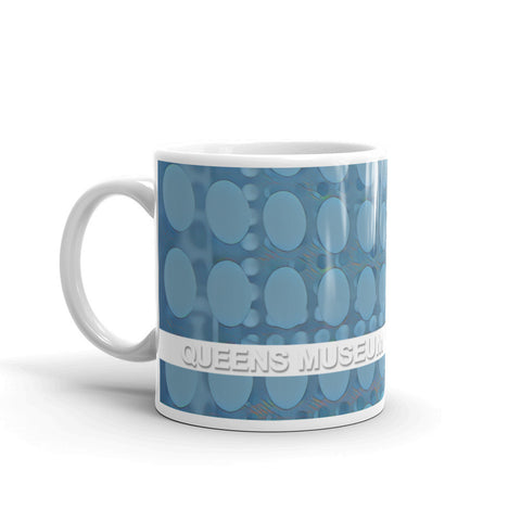 QUEENS MUSEUM, NEW YORK CITY (Blue Dots) - Mug