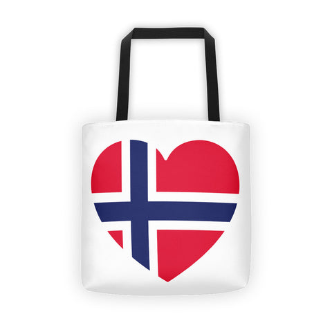 NORWAY HEART Tote bag