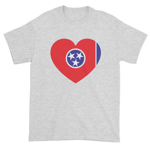 TENNESSEE HEART - Mens/Unisex short sleeve t-shirt