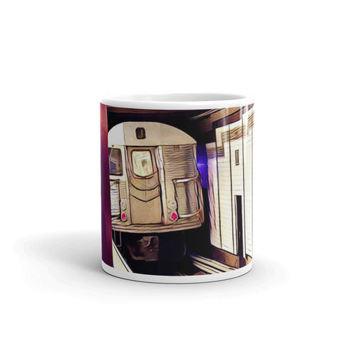 NEW YORK CITY SUBWAY (Cream) - Mug