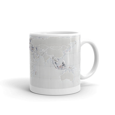 THE WORLD IS TOO BIG TO STAY IN ONE PLACE - Mug
