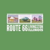 ROUTE 66 - PINK ELEPHANT ANTIQUE MALL - LIVINGSTON, ILLINOIS - Unisex short sleeve t-shirt