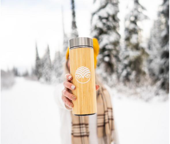 Bamboo Thermos