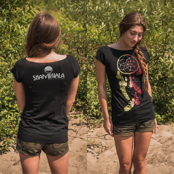 SOW Ladies Bamboo Dream Catcher T Shirt