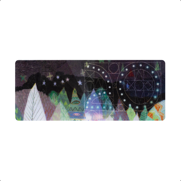Holographic Ticket Keepsakes - 2017