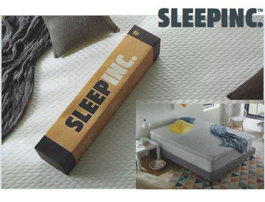 Sleep Inc Cooling Gel OmniSense Comfort Foam Mattress Topper