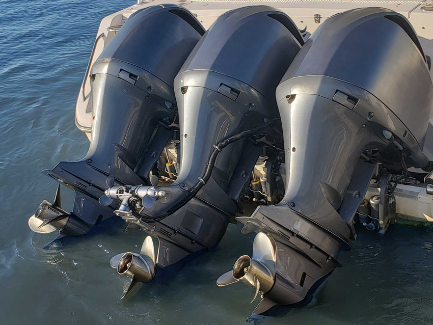 ST350-OB Outboard + Sterndrive Mounted Stern Thruster