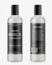 Mineral Oil, Food Grade, For Cutting Boards, Butcher Blocks, Countertops, Wood Utensils