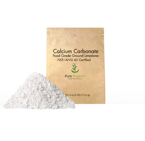 Calcium Carbonate Powder, food grade, limestone powder