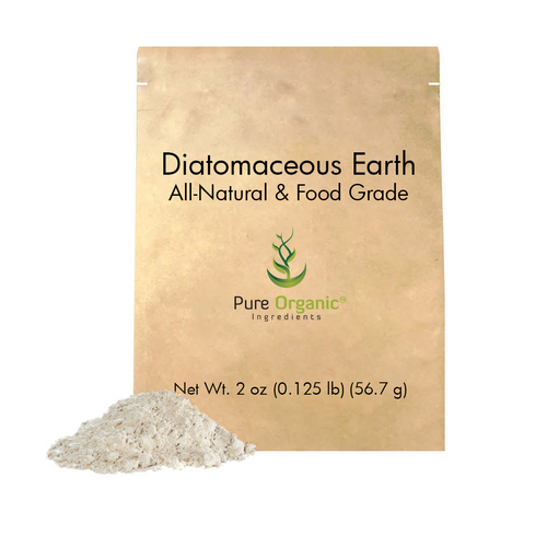 Diatomaceous Earth, Food Grade