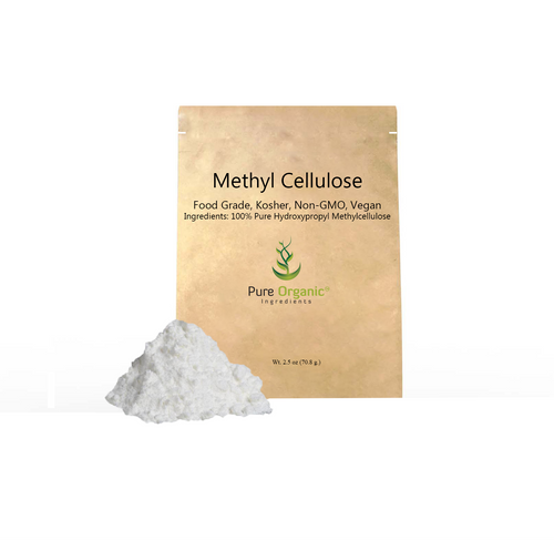 Methyl Cellulose, Derived from Natural Plant Fiber, Food Grade, Kosher, Non-GMO, Vegan, Eco-Friendly Packaging