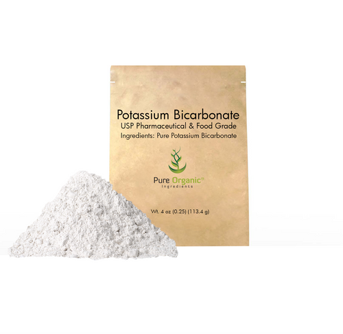 Potassium Bicarbonate, Natural, Highest Purity, Food Grade, (Eco-Friendly Packaging)