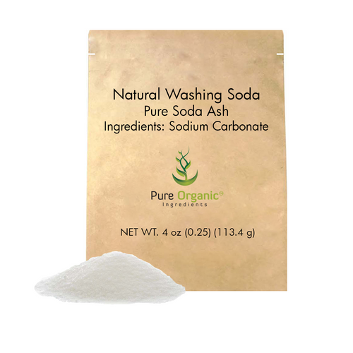 Natural Washing Soda or Soda Ash, or Sodium Carbonate