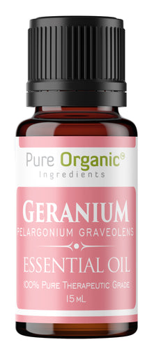 Geranium Pure Essential Oil 15 mL
