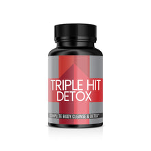 Triple Hit Detox Supplement, 100 Veggie Capsules, 635 mg per serving,  Eliminates Toxic Mold, Whole Body Detox, Removes Heavy Metals, Healthy G.I. Tract, Lab Tested, Cruelty Free & Vegan, Money Back Guarantee
