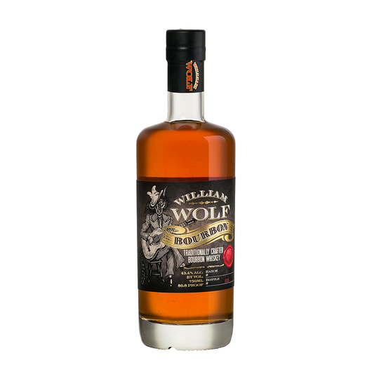 William Wolf Bourbon Whiskey