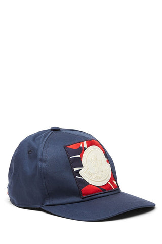 Moncler, Floral Patch Baseball Hat