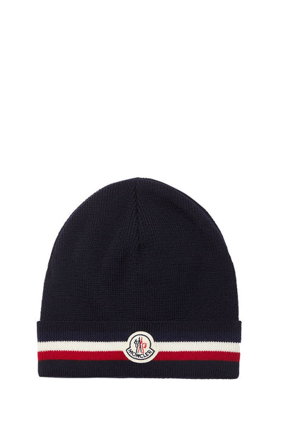 , Logo Striped Beanie