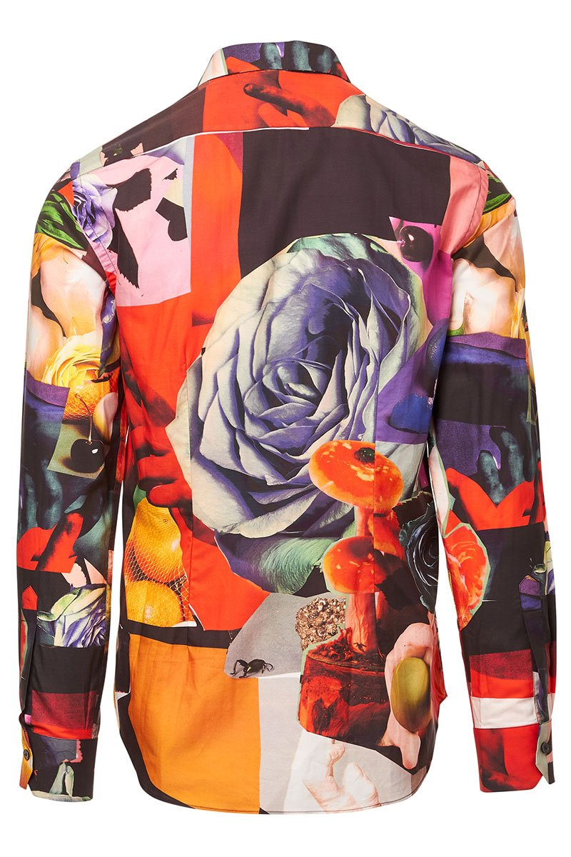 Rose Collage Sportshirt