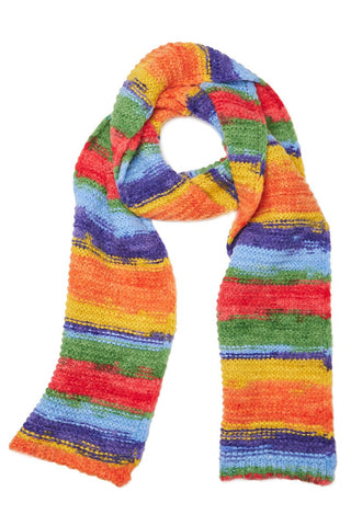 Rainbow Stripe Scarf