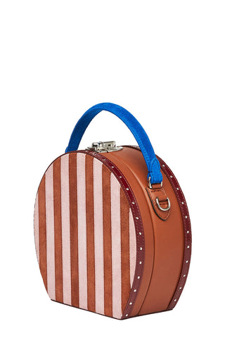 Striped Circle Bertoncina Bag