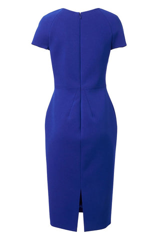 Bonded Crepe Sheath Dress