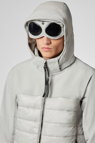 Shell Mixed Padded Goggle Jacket