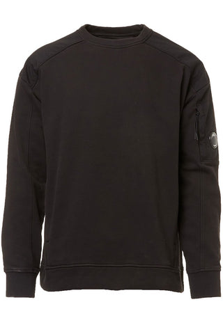 Diagonal Fleece Crewneck