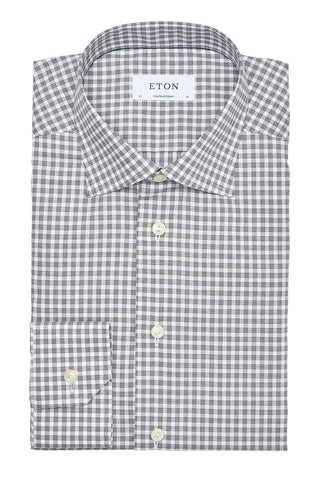 Eton, Blacked Check Shirt