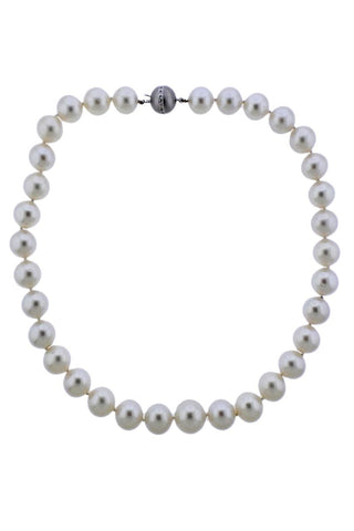 EGL Cert South Sea Pearl Necklace