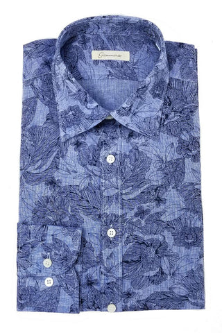 Gianmarco, Drawn Floral Sportshirt