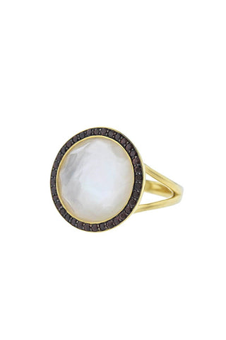 Ippolita 'Lollipop' Garnet Mother of Pearl Ring