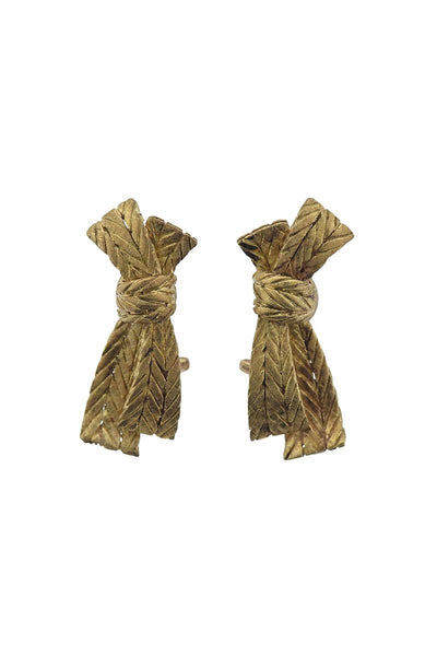 , Buccellati Bow Earrings