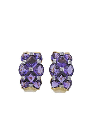 Bellarri Amethyst Earrings