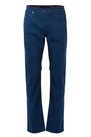 AG Jeans, The Graduate Sueded Sateen Jeans