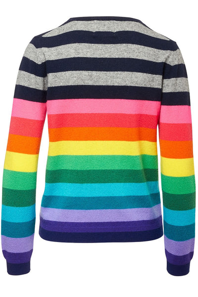 Jumper 1234, Multi Stripe Crew