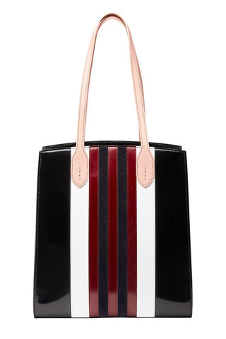 Striped Darcy Tote