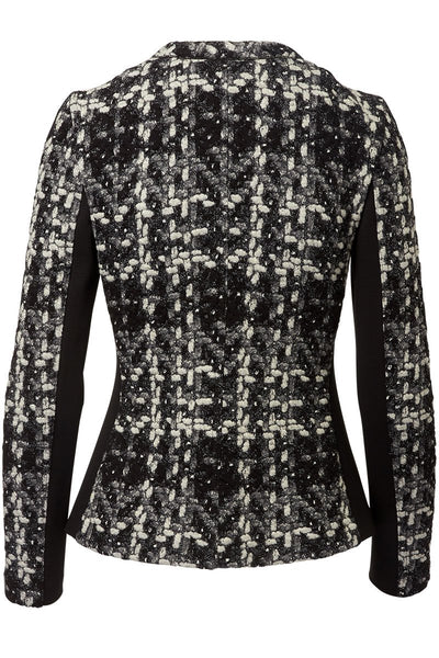 Akris Punto, Tweed Jersey Jacket