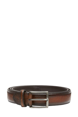Paolo Vitale, Pebbled Leather Belt
